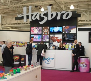 Hasbro had an amazing stand
