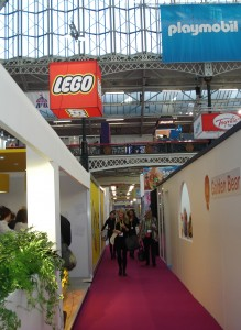 The LEGO stand was packed !