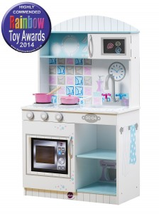 Snowdrop Interactive Wooden Kitchen 41066 Cut Out - With Accessories copy