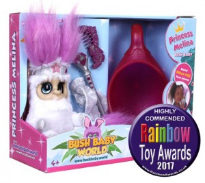 Bush Baby World Shimmies Princess Melina highly commended