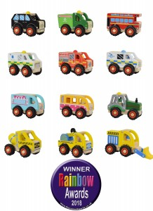 wheeled win wooden vehicles